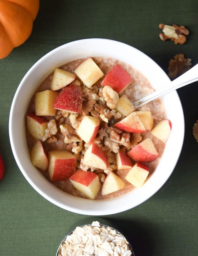 Maple Apple & Walnut Oatmeal