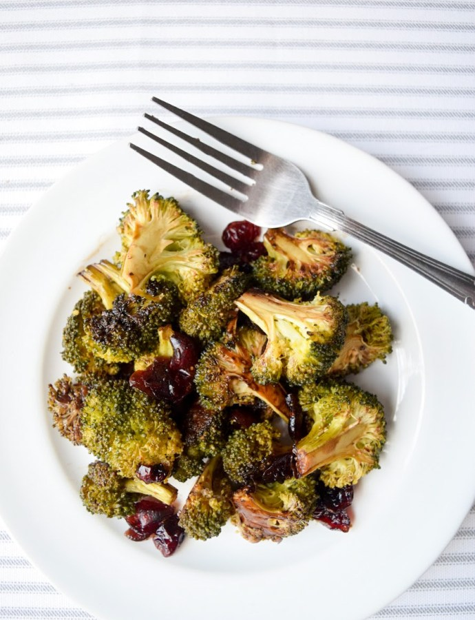 Garlic Balsamic Roasted Broccoli