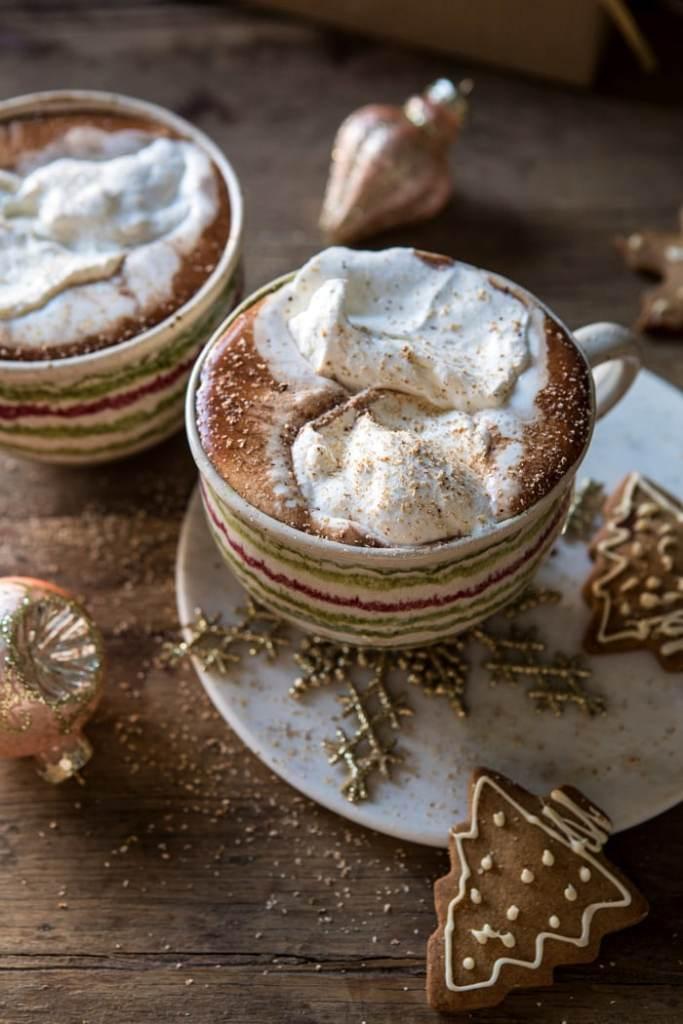 vanilla mocha hot chocolate