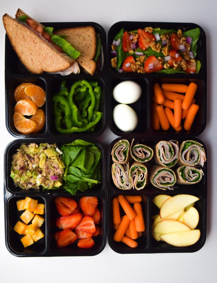 Easy Healthy Lunch Ideas to Take to Work!