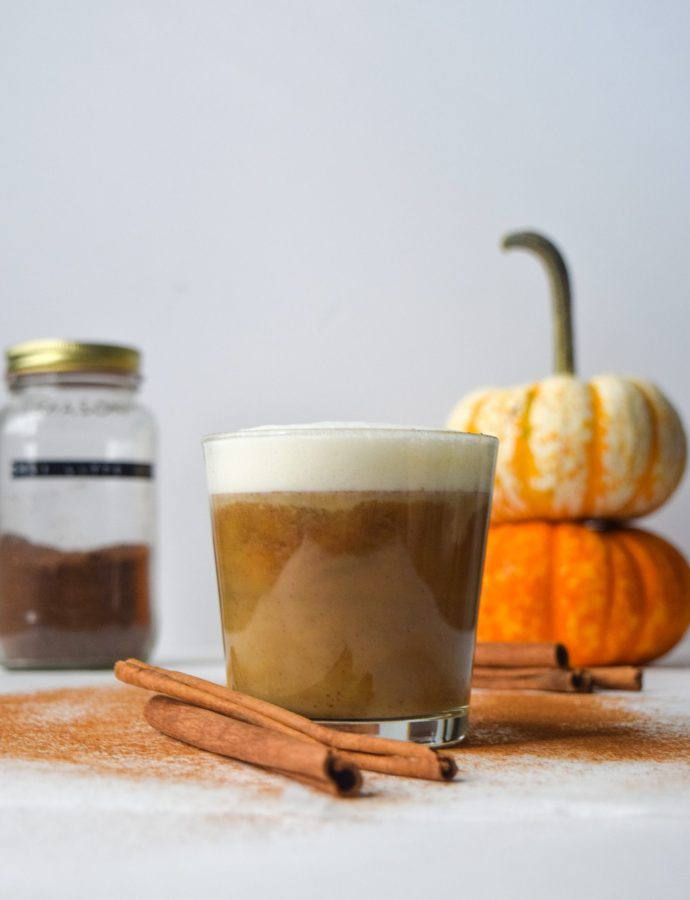 Vegan Pumpkin Chai Latte