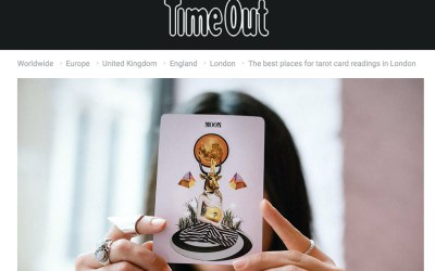 TimeOut Magazine – 7 Best Tarot Reading Spots in London
