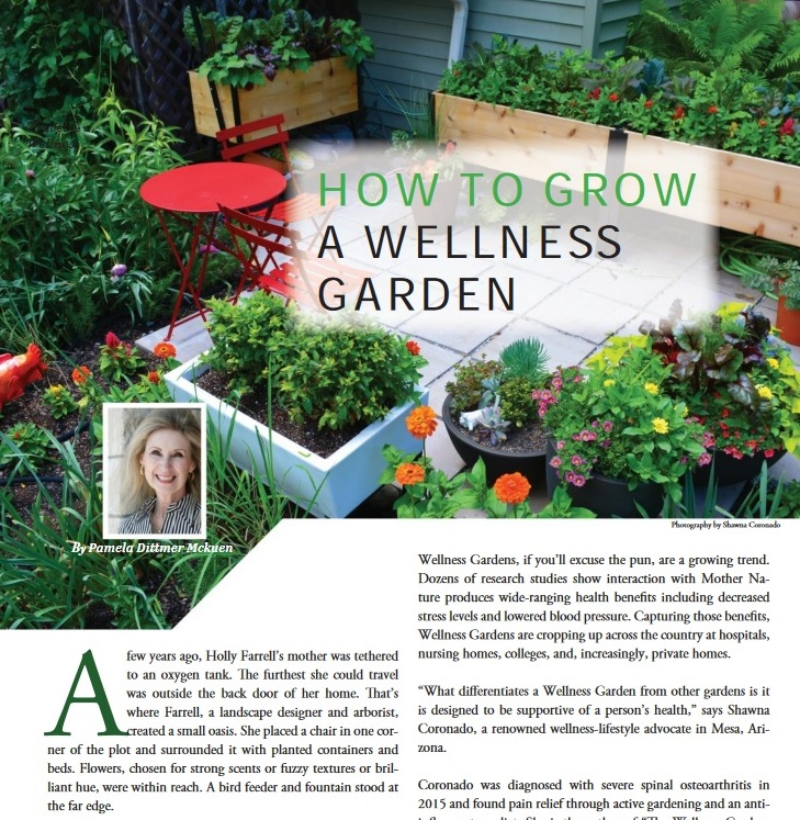 Wellness Garden article