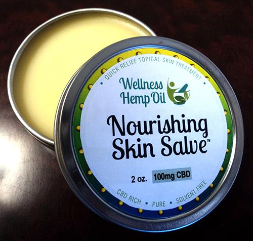 Wellness Hemp Oil 100mg CBD Nourishing Skin Salve