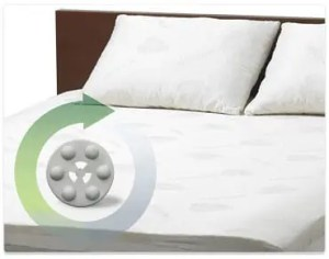 Magnetic mattress pad 4