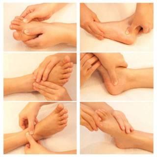 Padabhyanga Hand Techniques