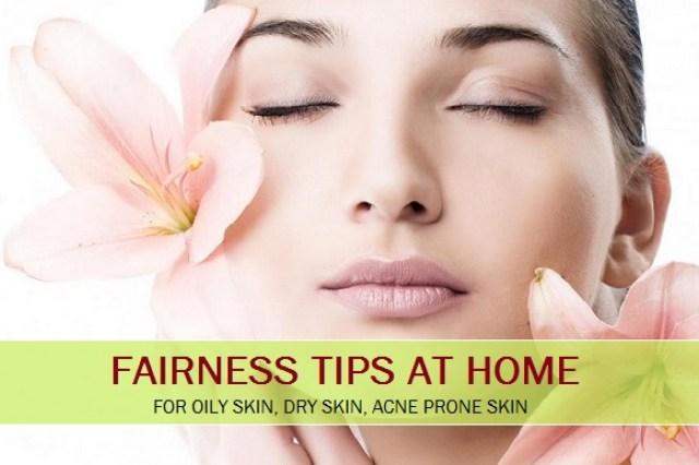 Get Fair Skin Complexion Naturally