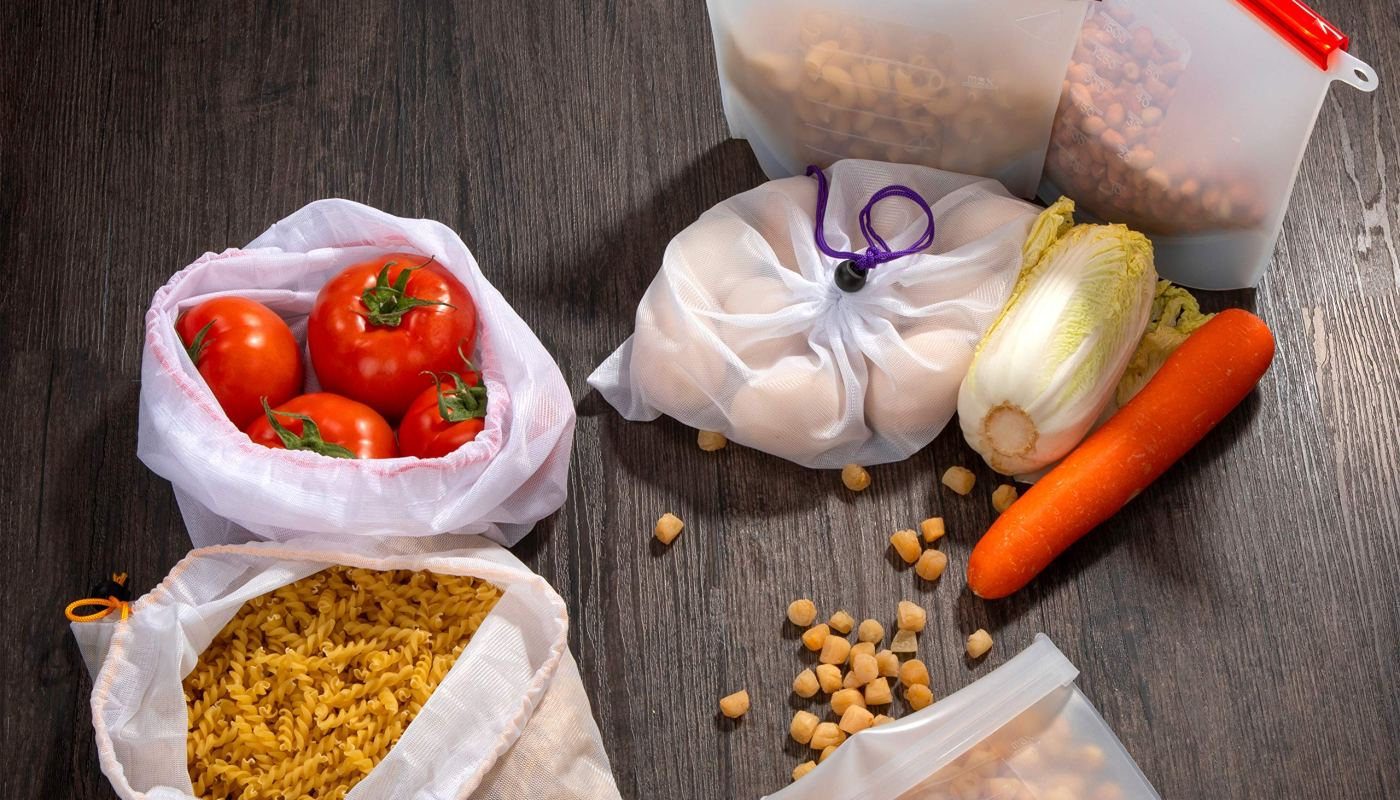 Eco Friendly Reusable Food Storage Bags