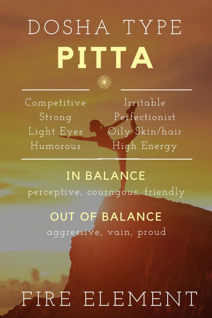 Ayurveda Pitta Imbalance