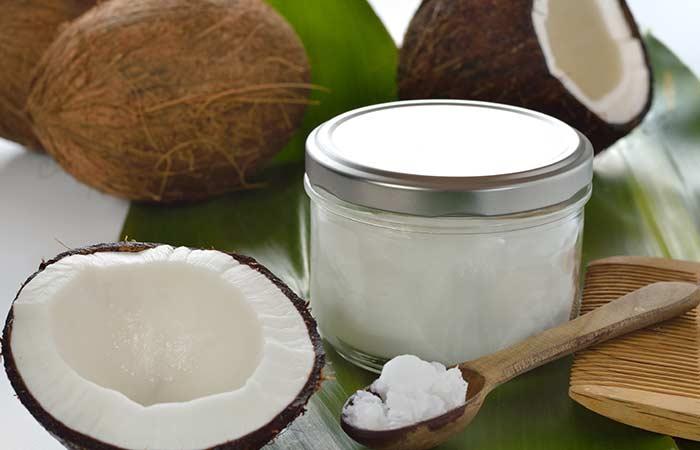 Coconut Oil Sugar Scrub