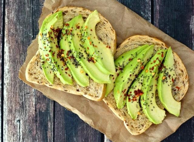Crunchy Avocado Chia Toast for Breakfast!