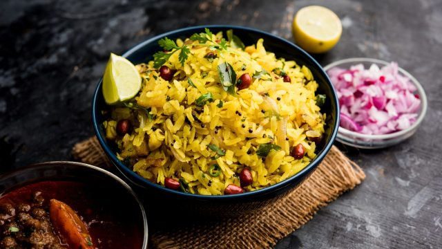 Poha is a wholesome meal.