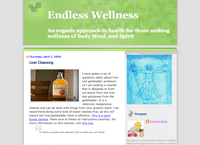 1 Wellness Mama blogspot