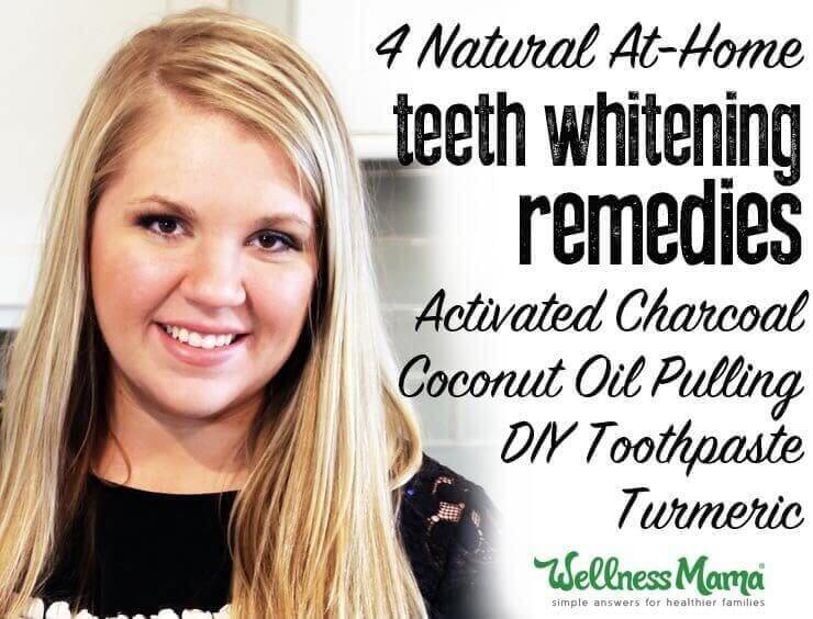 4 Natural Teeth Whitening Remedies that work charcoal coconut oil toothpate turmeric
