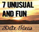 7 Unusual but fun date ideas