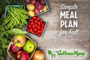 Simple meal plan for Fall