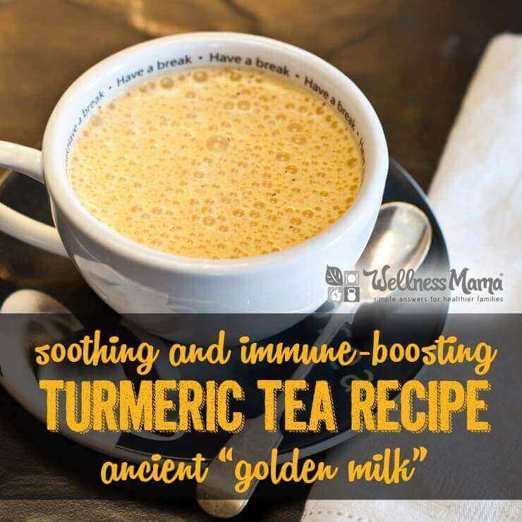 Soothing and Immune Boosting Turmeric Tea Recipe Golden Milk Recipe