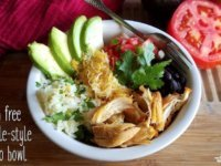 chipotle Mexican burrito bowl