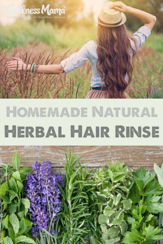 This easy DIY herbal hair rinse will take your beauty routine to the next level and give you shiny, healthy hair with the natural power of herbs!