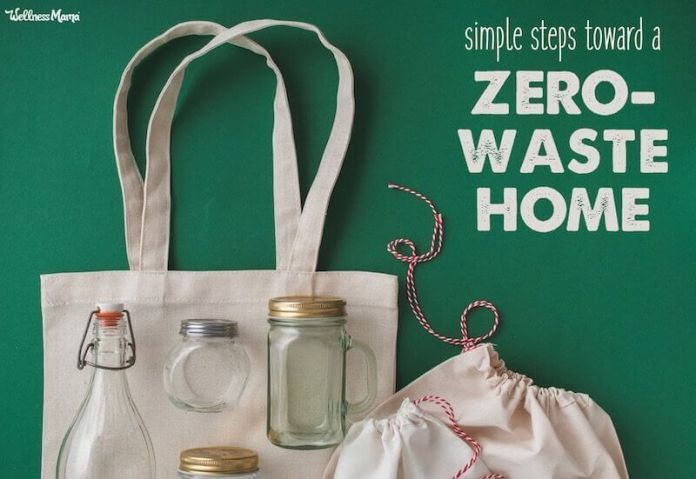 simple zero waste ideas for at home