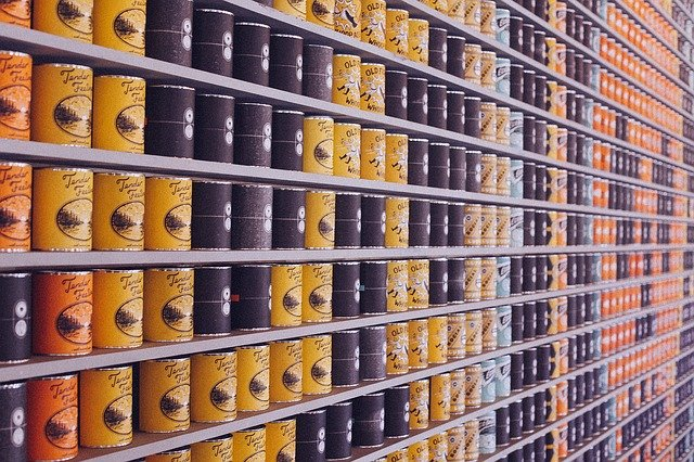 salt and hypertension- canned foods are loaded with salt