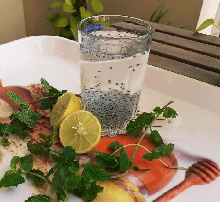 Sabja for weight loss- Try lemon water with sabja