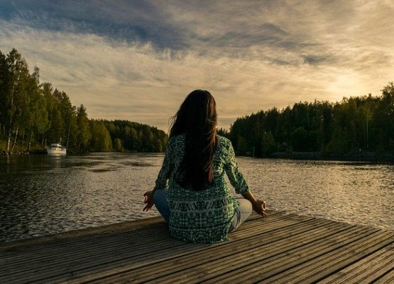 Yoga and meditation for well being