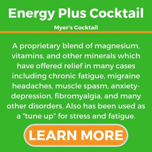 Energy Plus Cocktail - Myer's Cocktail