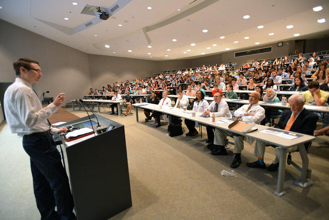 Words of Welcome and Advice to New Medical Students:  The DeBakey Scholar Convocation Address