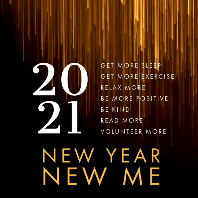 New Year, New Me!