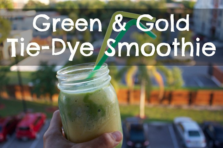 Green and Gold Smoothiee