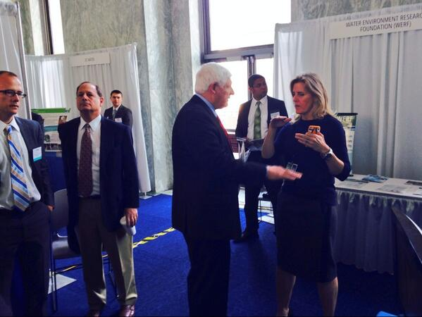 Rep. Gibbs and Marian Singer at Waterweek 2014