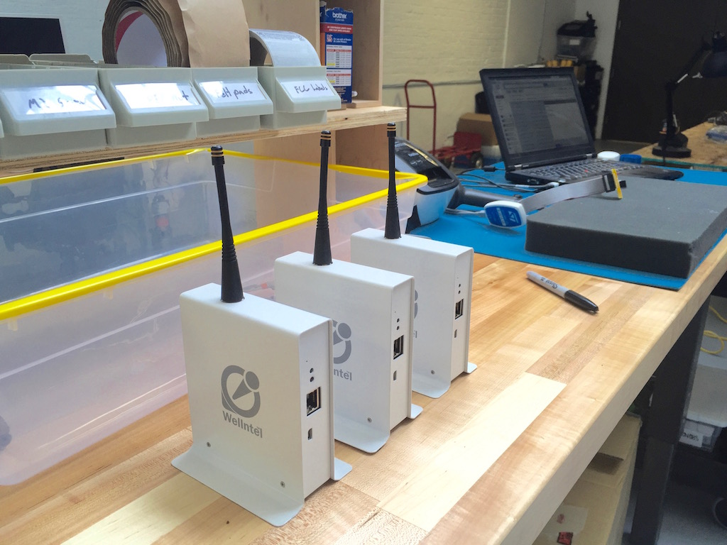Wellntel Gateways coming off the line