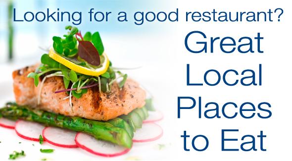 Good local restaurants