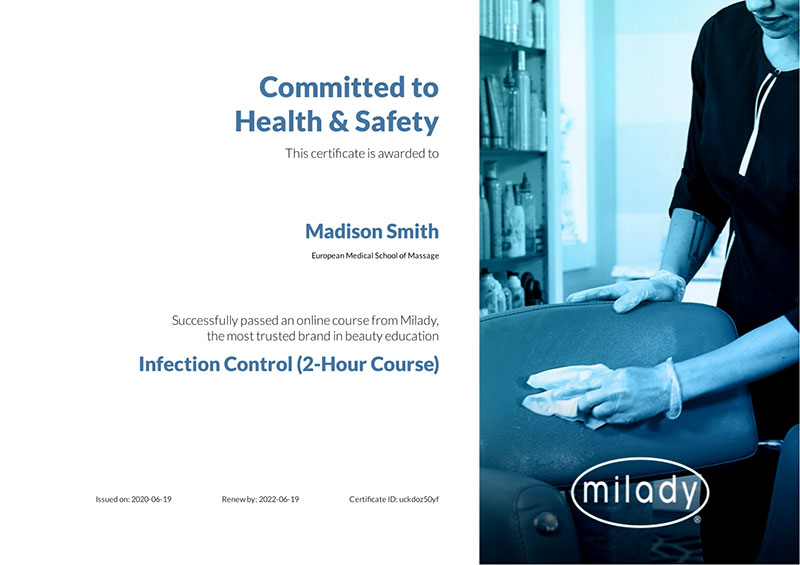 Infection Control Certified