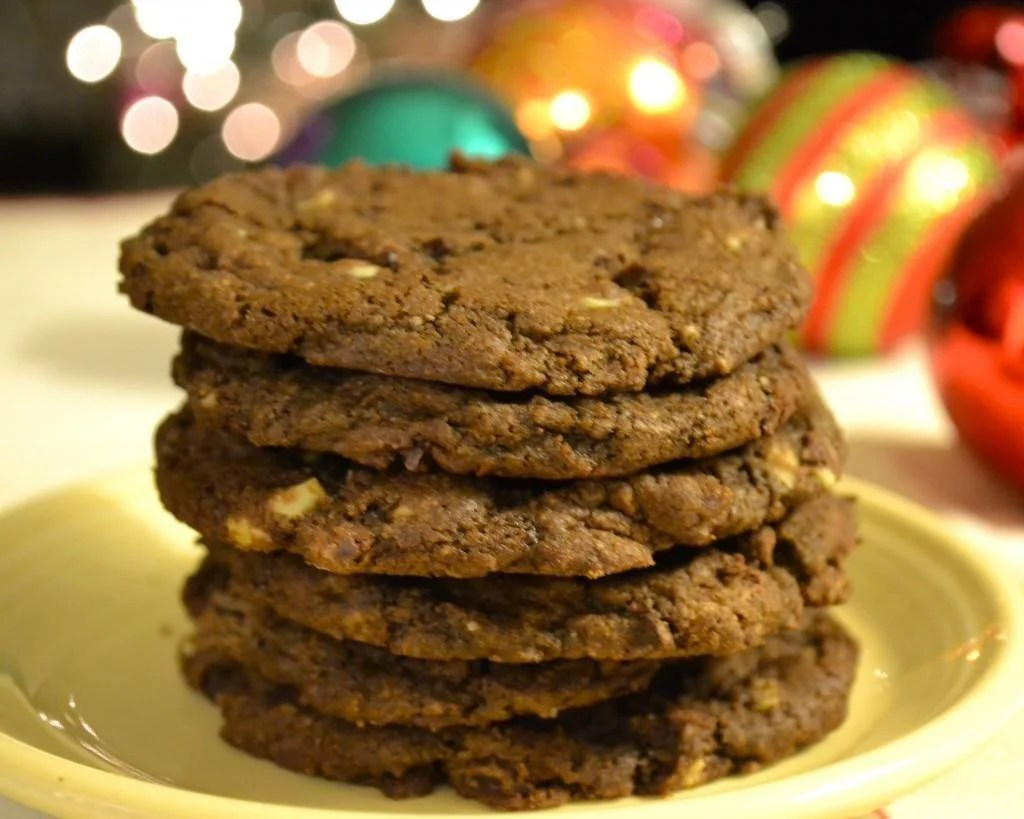 Double Dark Chocolate Mint Cookies | The Law Student's Wife