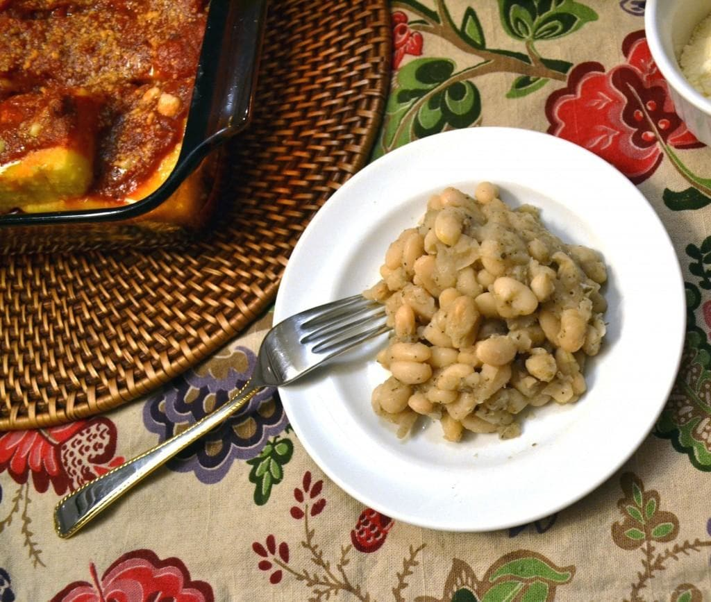 Parm-Baked-Polenta-with-Tuscan-White-Beans-Recipe