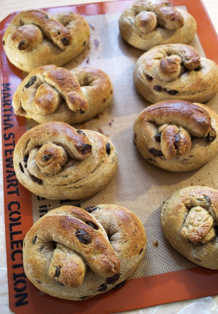 Soft-Whole-Wheat-Raisin-Pretzels-Recipe