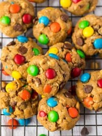 Easy Monster Cookies. Soft, chewy, and perfect every time!