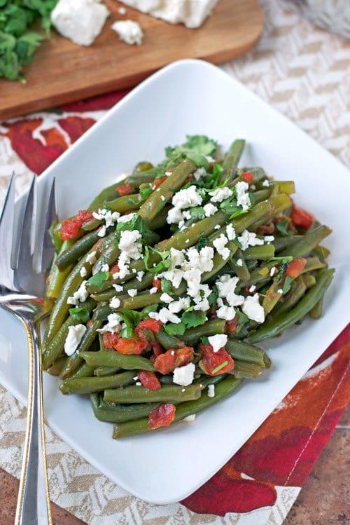 Feta Green Beans