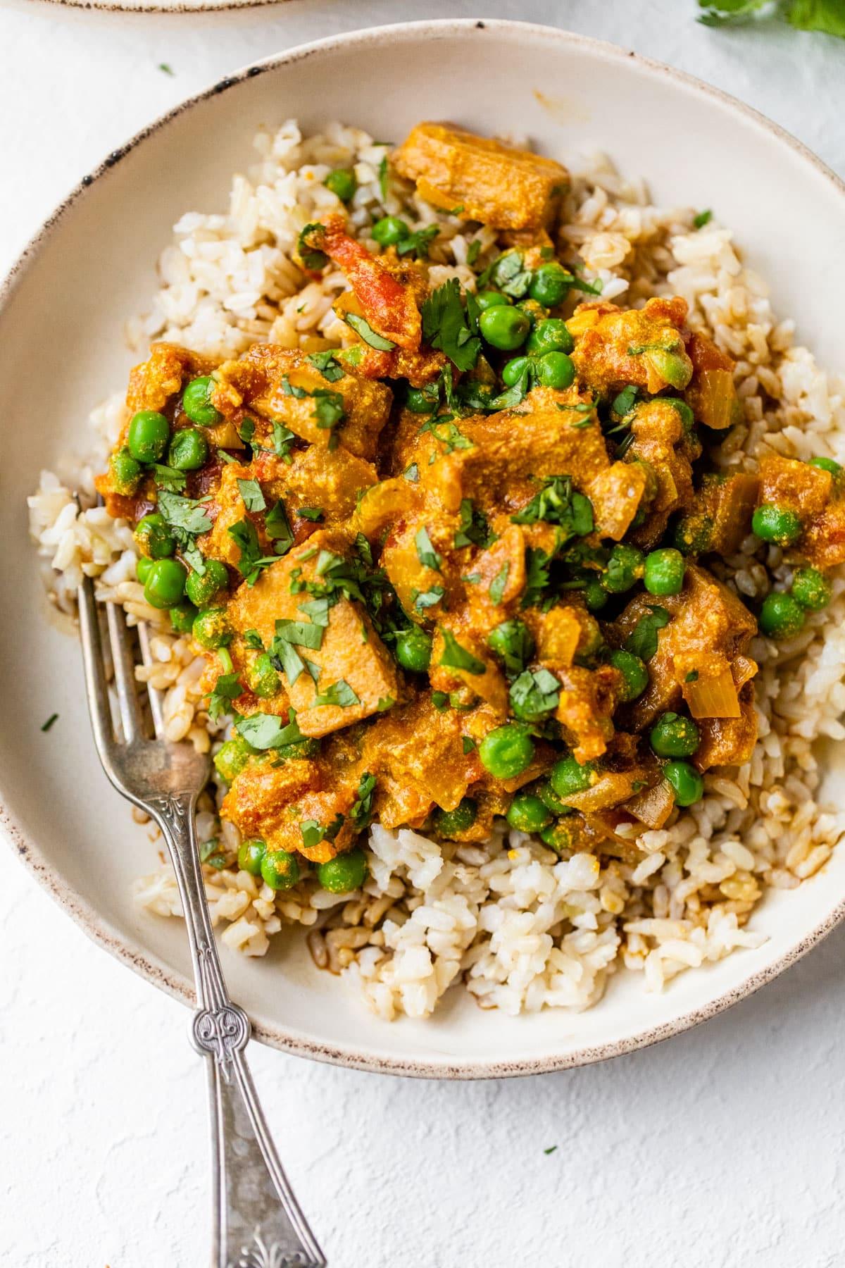 Easy Tofu Curry