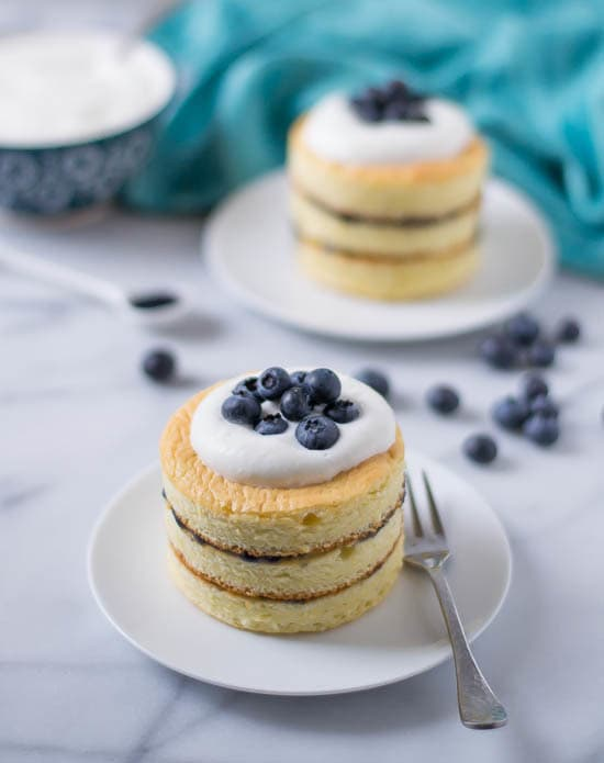 Buttermilk Chiffon Cake with Blueberry Curd and Buttermilk Whipped Cream-Recipe-1