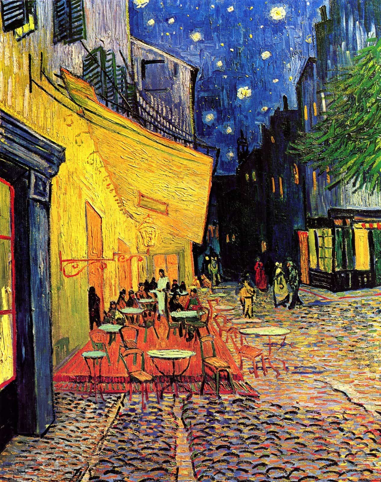 Cafe Terrance at Night - Van Gogh