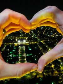 Eiffel Tower Heart
