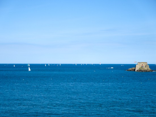 St. Malo Bright Blue Waters