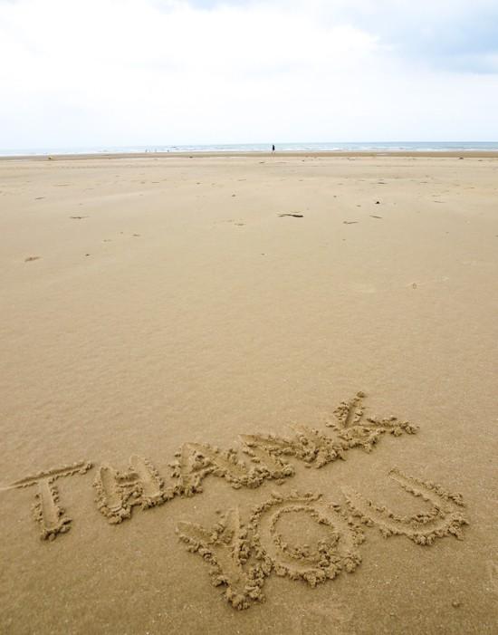 Thank You - Omaha Beach
