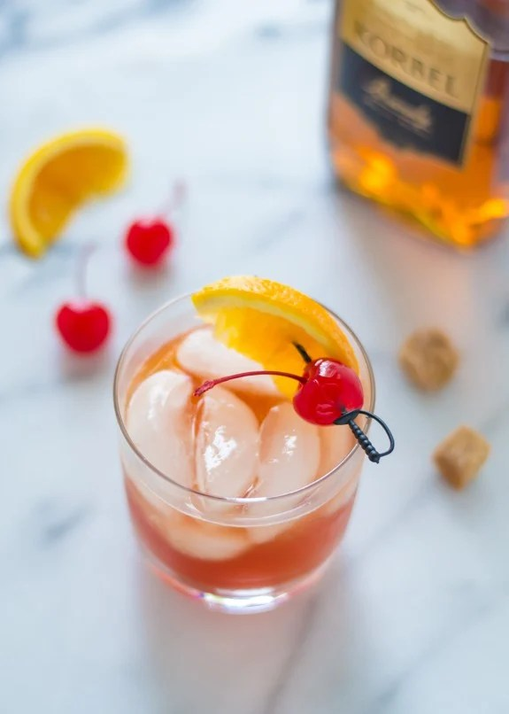 Brandy Old Fashioned. One cocktail everyone should know.