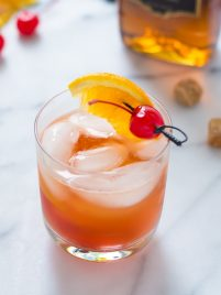Brandy Old Fashioned. One of the classic cocktail recipes everyone should know.