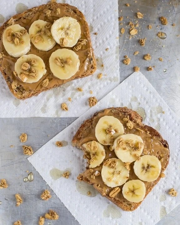 Image result for banana peanut butter