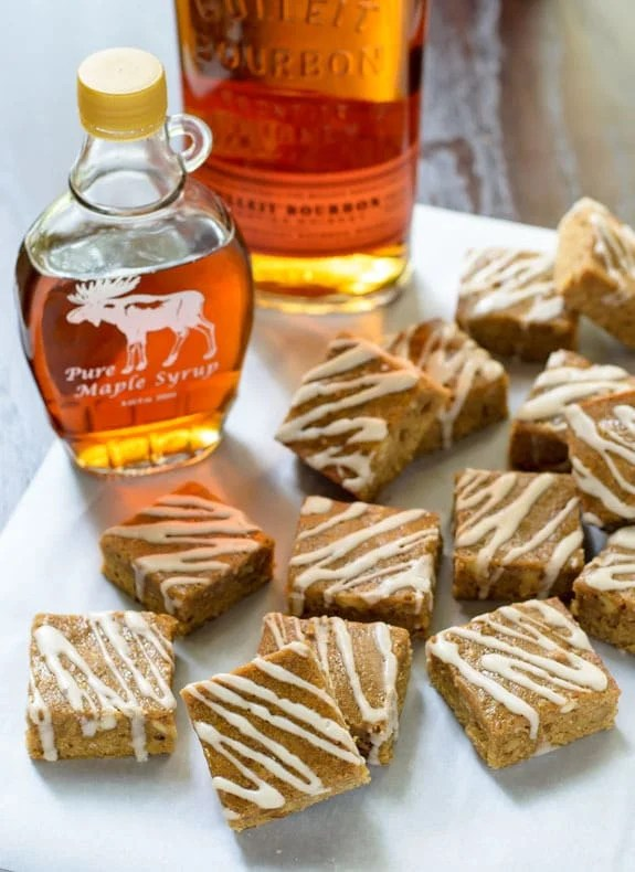 https://i2.wp.com/wellplated.com/wp-content/uploads/2014/10/Maple-Brown-Sugar-Bourbon-Bars-with-Brown-Butter-and-Bourbon-Glaze.jpg